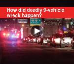 Chattanooga Update: Six dead in nine-vehicle wreck on I-75