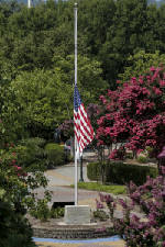 Flags to remain at half-staff until sunset on Friday