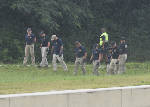 FBI searches woods at intersection of Highway 153 and Amnicola