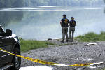 FBI, NCIS search banks of Tennessee River off River Canyon Road