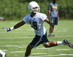 James Stovall in healthy competition for UTC receiver spot