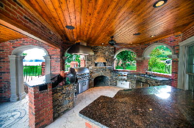 Outdoor Kitchens Though Pricey Are A Hot Item Chattanooga