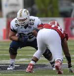 Mocs' offensive line getting the job done