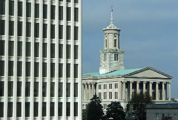 The Tennessee Capitol Is Shown In Nashville Gov Bill Haslams Administration Says 700 Workers Have Accepted Buyouts What An