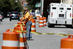 South bound lane of St. Elmo Avenue from 40th Street to Ochs Highway closed for several weeks