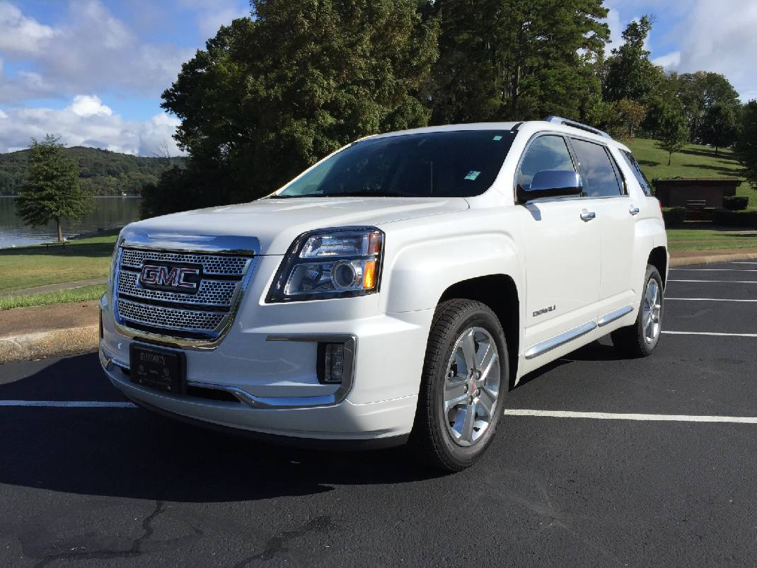 Test Drive Gmc Terrain Redesigned For 2016