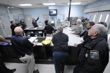 Inmates housed in shower stalls at Hamilton County jail due