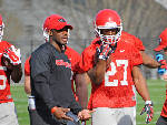 Thomas Brown recruiting with Kirby Smart for Bulldogs