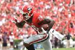 Georgia's  Malcolm Mitchell journeyed a long way off the field