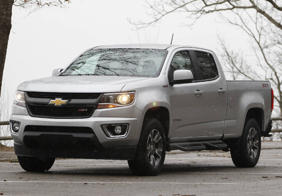 Test Drive 2016 Chevy Colorado Sel Raises Pickup Stakes