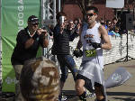 Chattanooga marathon winner ran 19.2 miles with a tweaked foot
