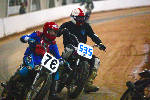 Vintage cross-country motorcycle racing not for the faint of heart