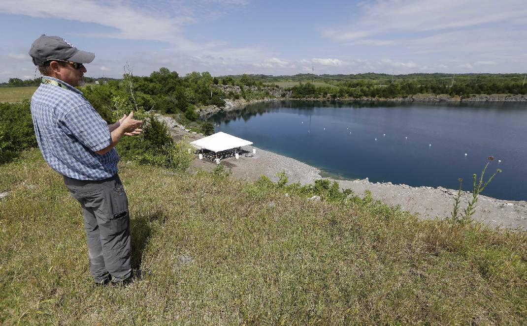 Old quarry near runway now saves Nashville airport $430,000