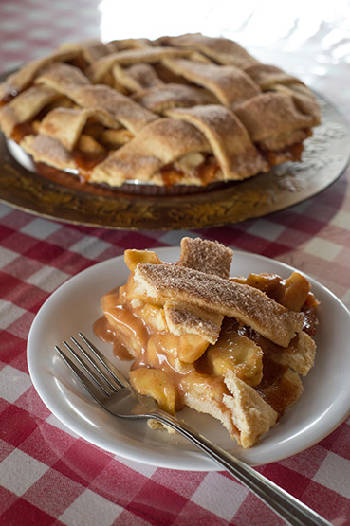 Side Orders: Have your apple a day in a pie
