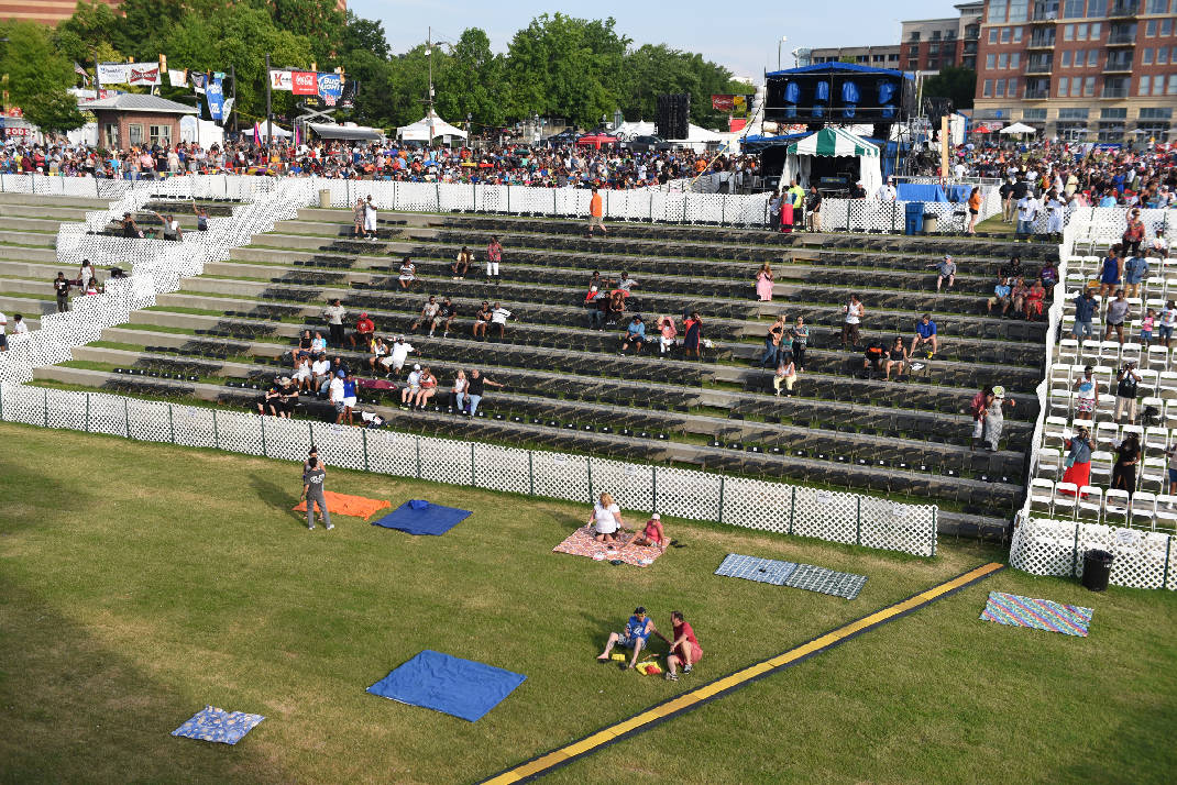 How Good Are Lawn Seats At Riverbend Wallseat Co