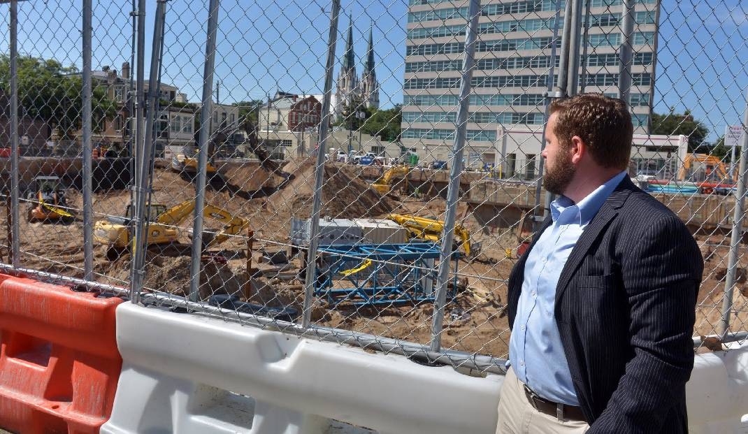 Phillip Ashlock Looks At Construction Of A New Hotel Just North Of Drayton  Towers On June 15, 2016 In Savannah, Ga. Ashlock Is Circulating A Petition  To Get ...