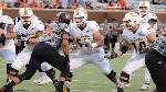 Mocs by position: Offensive line