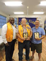 Chickamauga Lions Club presents Lions of the Year