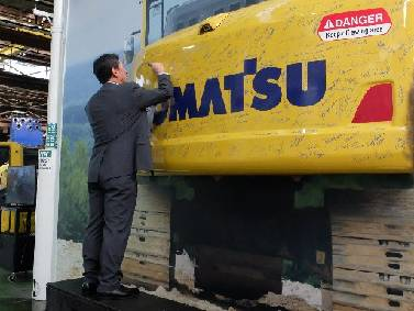 Komatsu marks 30 years in Chattanooga | Times Free Press