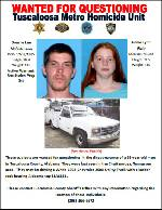 Authorities seek pair for questioning in possible Alabama homicide