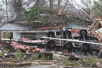 Three dead, more injured in Jackson, DeKalb counties after tornado