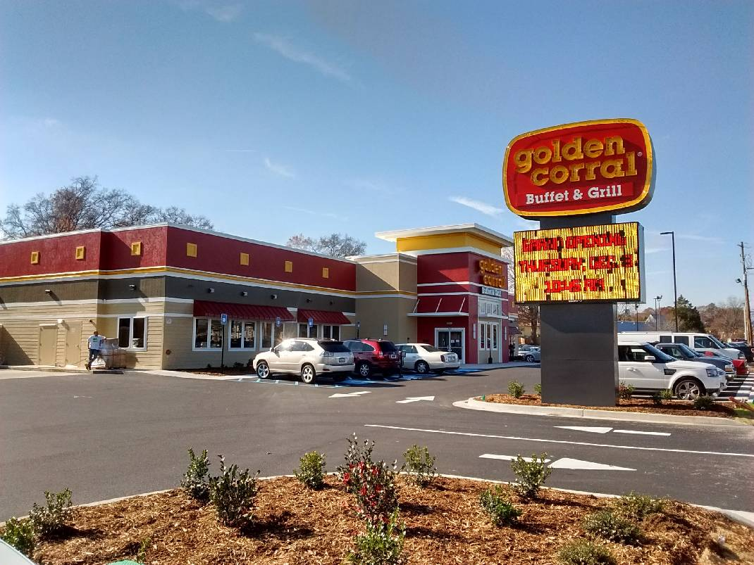 golden corral that burned down in fort o reopens today photos