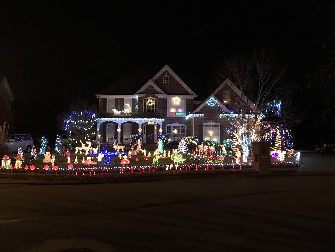 houses with christmas light displays in chattanooga and surrounding area photos video times free press - Christmas Lights Chattanooga