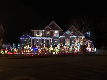 Houses with Christmas light displays in Chattanooga and surrounding ...