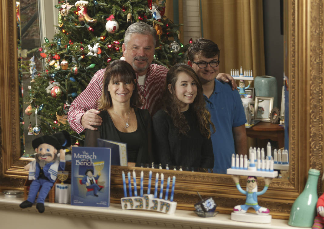 Interfaith Couples Cooperate To Celebrate Both Christmas And Hanukkah Which Share The Same Day This Year Chattanooga Times Free Press