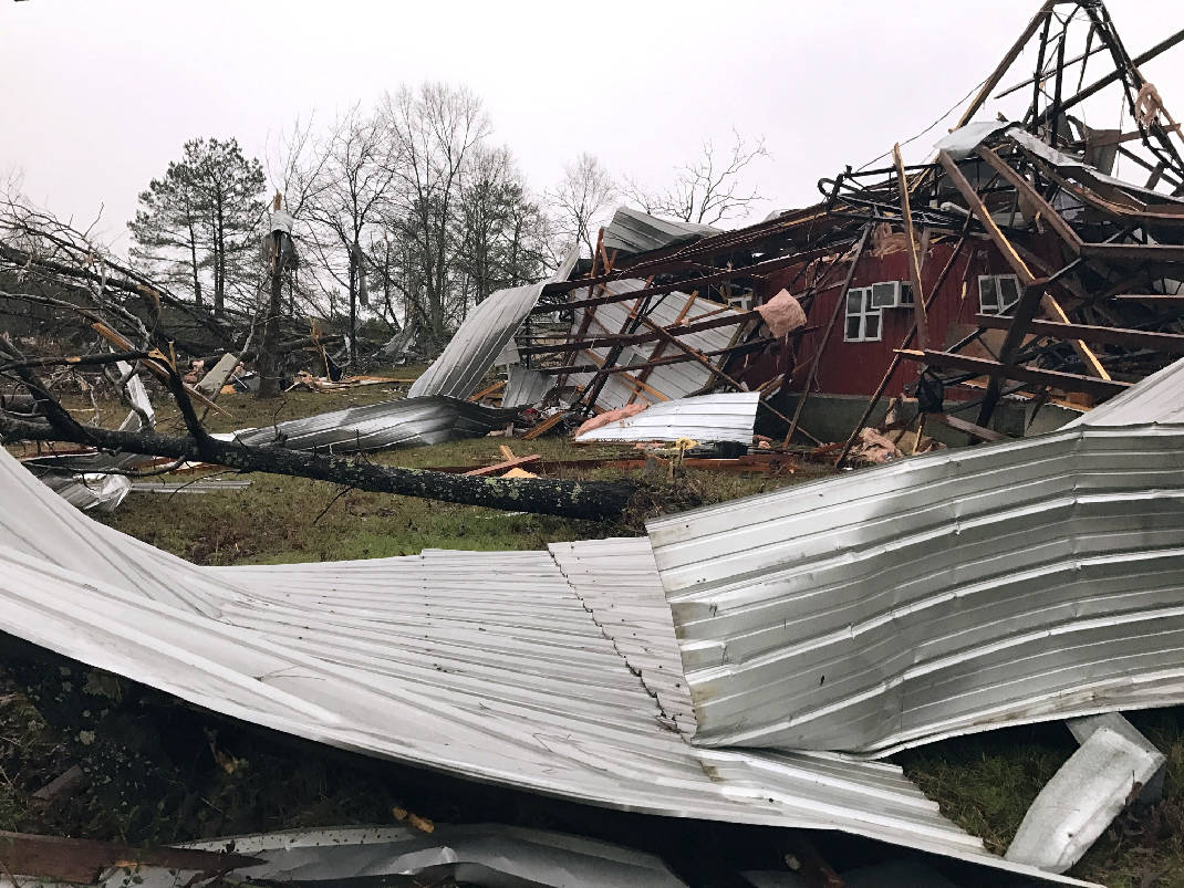 South braces for more severe storms, rain after four killed