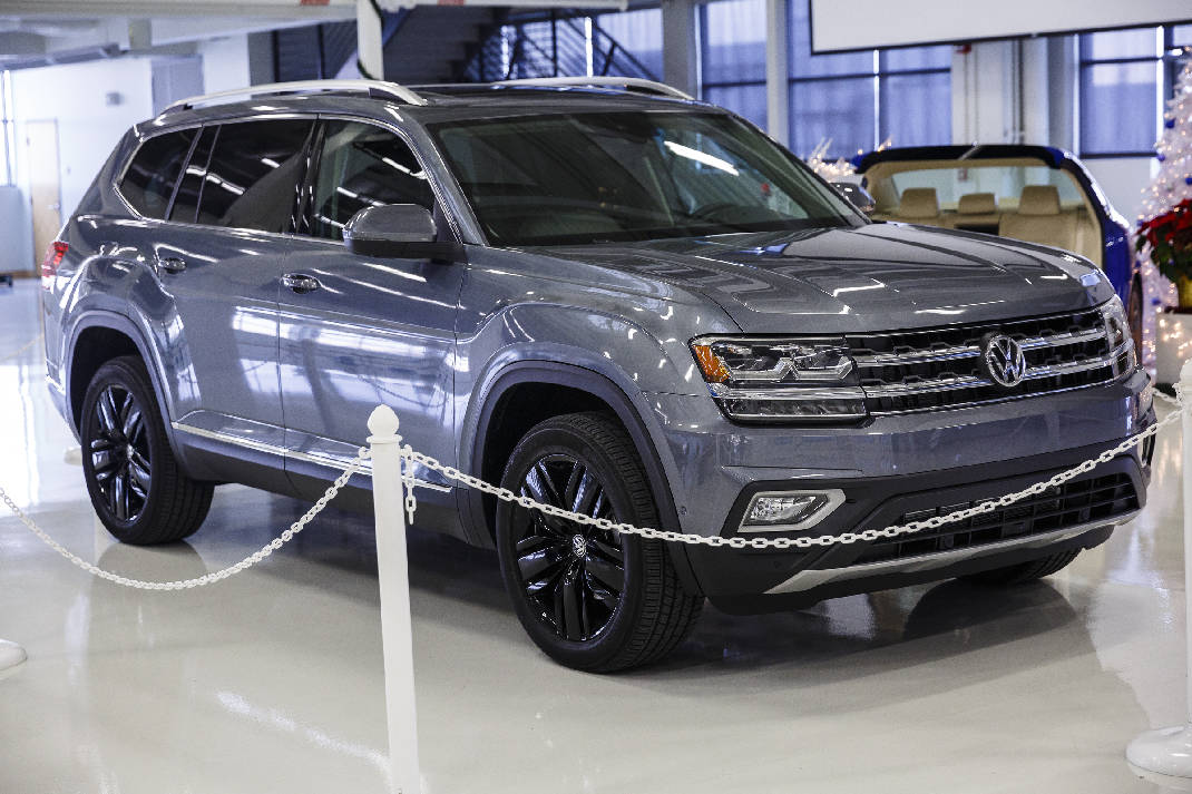 VW prices Chattanooga-made Atlas SUV to be competitive | Times Free Press