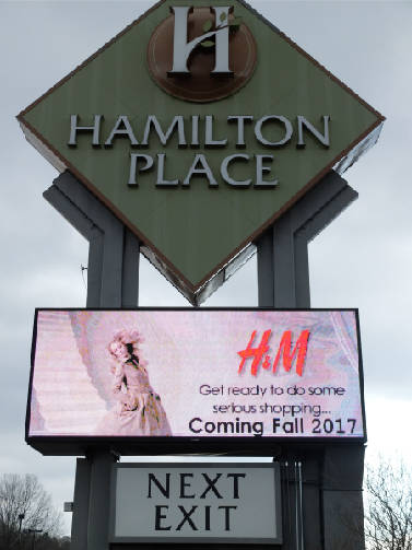 Hamilton Place Mall Continues Upgrades Adding New Restaurants And