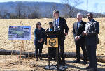 Park construction starts on Charles A. Bell site