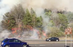 Brush fire menaces homes and businesses in Walker County [photos, video]