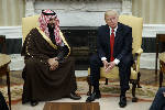 White House meeting on Saudi underscores kingdom's influence