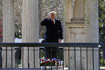 Trump arrives at The Hermitage for historic visit to Andrew Jackson's home [video]