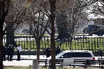 Man who drove suspicious car near White House is detained