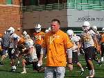 Butch Jones likes perspective offered by new staff members