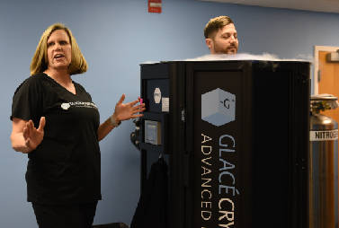 Chattanooga's first cryotherapy clinic aims to deep-freeze