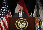 Sessions: Ferguson emblem of tense relationship with police