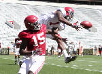 Nick Saban pleased with offense after first Tide scrimmage