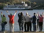 Historic steamship's backers think Congress will OK law to let Delta Queen carry overnight passengers
