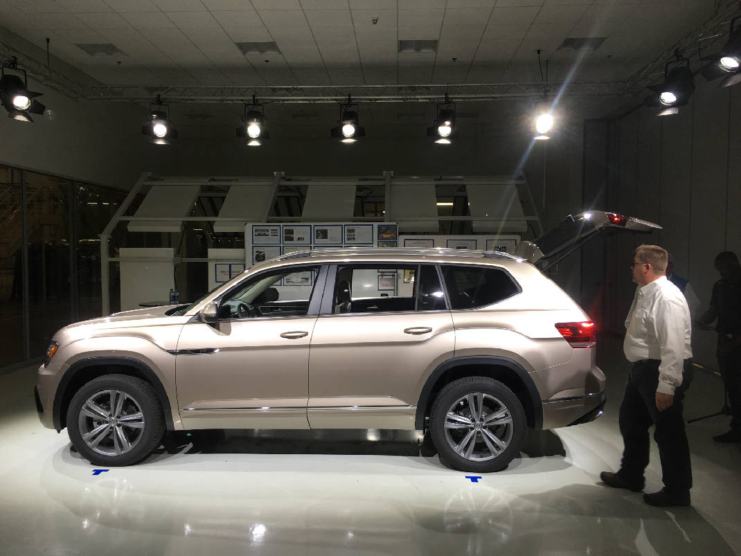 Used Cars Chattanooga >> Quick Spin: New Volkswagen Atlas combines roominess and ...