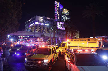 Roof of Bellagio mall burns near iconic fountains in Vegas   Times