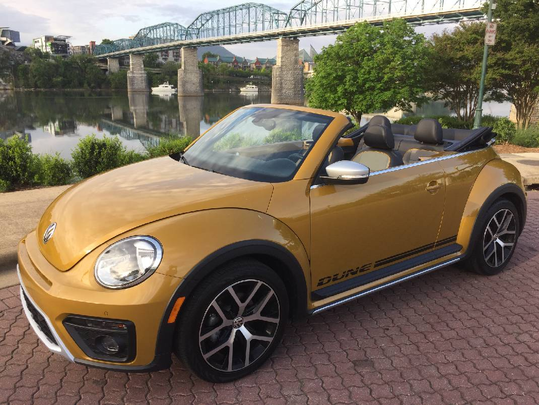 Test Drive 2017 Vw Beetle Dune Convertible Chattanooga Times Free Press