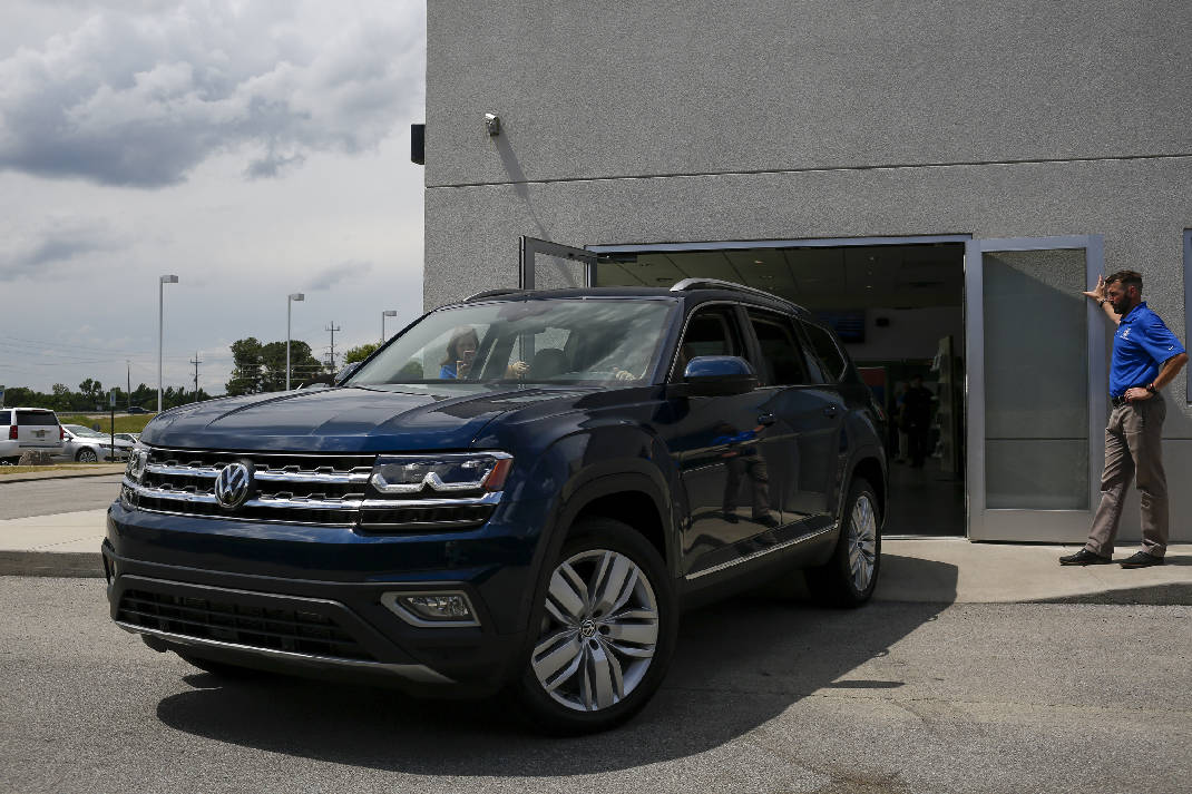 Chattanooga-made VW Atlas sales hit new monthly high | Times Free Press