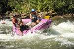 Whitewater canoeist lives to tell the tale of the 'grace of God'