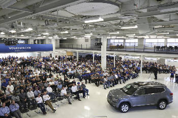 Chattanooga Vw Plant Impacted By Bill Seeking To Reverse Micro Unions