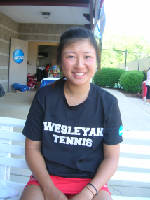 Eudice Chong playing for third NCAA Division III singles title
