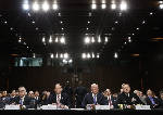 The Latest: Intelligence chiefs unsure what can say publicly to Senate